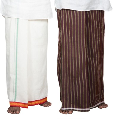 VKE Product Solid Men's Dhoti