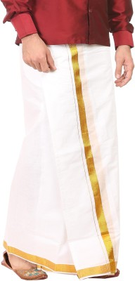 Kaatru Solid Men's Dhoti