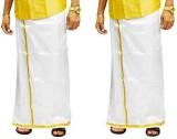 CMK PATTU Self Design Men's Dhoti