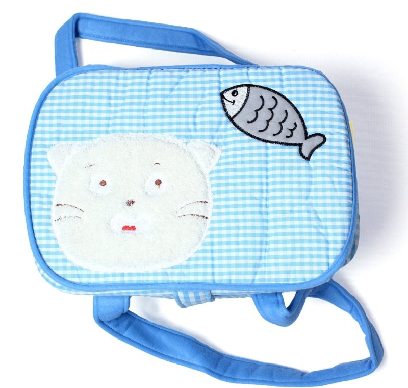 Baby Bucket SML BLU LID FISHBB Diaper Bag Dispenser(1 Bags)