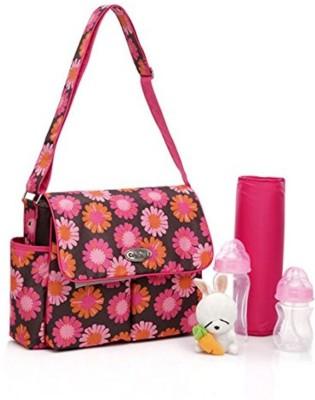 Baby bucket colorland waterproof Flower Print Mummy Floral Diaper Bag