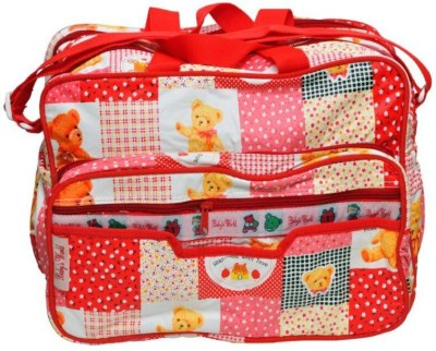 Baby`S World Baby`S World Red Zippered Baby Bag BABY DIAPER BAG