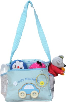 PRETTY KRAFTS Baby Accessories Mother Bag Multipurpose Smart Organizer Blue Color