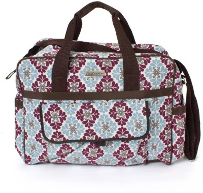 Stuff Jam Diaper Flower Print Nursery Bag