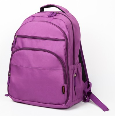 T-Bags Mommy And Baby Purple Backpack Diaper Bag