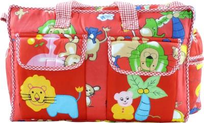 Ole Baby Multi Utility Jumbo Embroidery Picnic Print Tote Diaper Bag