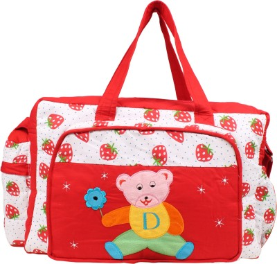 GoAppuGo Strawberry Mother Baby Small Diaper Bag