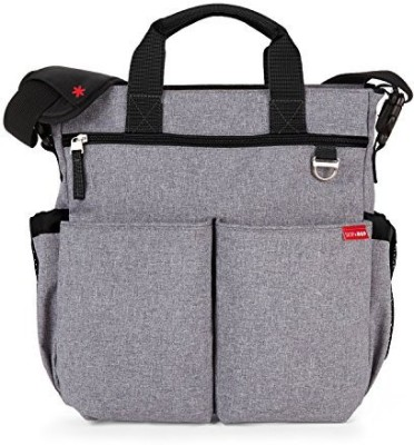 Skip Hop Duo Diaper Bag - Signature Heather Grey Diaper Bag