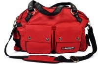 Kappsack Mama Bag with Changing Mat Diaper Bag(Red) Flipkart