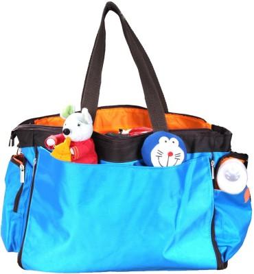 PRETTY KRAFTS Mother's Blue Color Diaper Bag