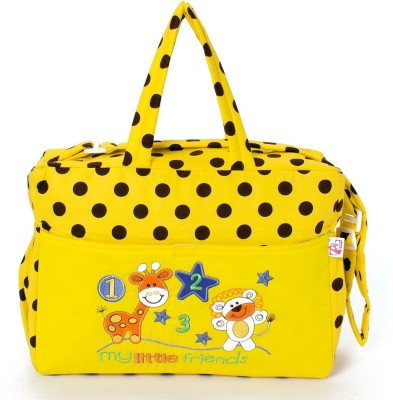 Stuff Jam Advance Baby Polka Dot Print My Little Friends Diaper Bag Nursery Bag