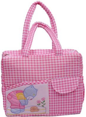 Kuber Industries Baby Multipurpose , Travelling , Carry , Multiple Pocket Diaper Baby Bag
