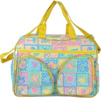 A Baby Multi Utility Nursery Messenger Diaper Bag(Yellow)