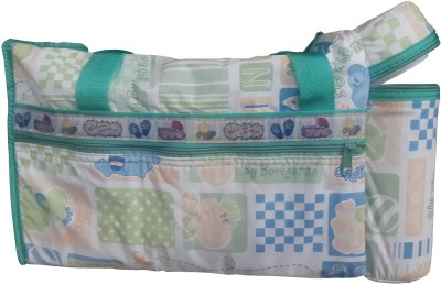 Icable GREEN BAG Tote Diaper Bag