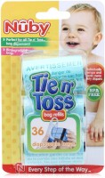 Nuby Tie 'N' Toss Dirty Diaper Bag Dispenser(Blue, Green)