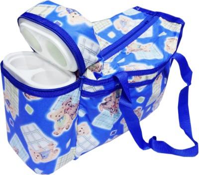 Ole Baby Premium Multi Purpose Joy Bunny Print with Warmer Tote Diaper Bag