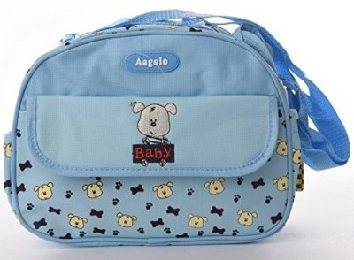 Baby Bucket Round Multiutility Cute Puppy Embroidered 1 baby bag
