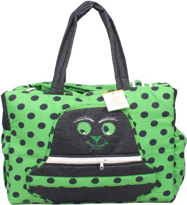 Ole Baby Big Multi-Utility Amazing Polka Dot Fabric Diaper Bag