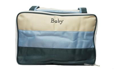 Kiwi Tricolor Shoulder Diaper Bag