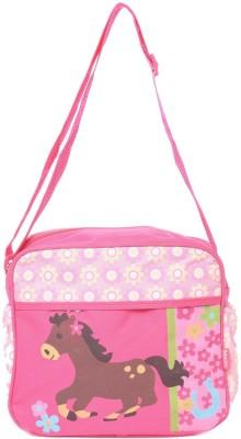 Baby Bucket Bebesitos Nursery Mummy Diaper Tote - Horse Print -Bag Purse
