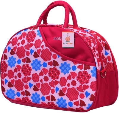 Ole Baby Attractive Applique Multipurpose,Amazing Printed Smart Organizer Best Material, Multi-function,Waterproof and Washable Diaper Bag