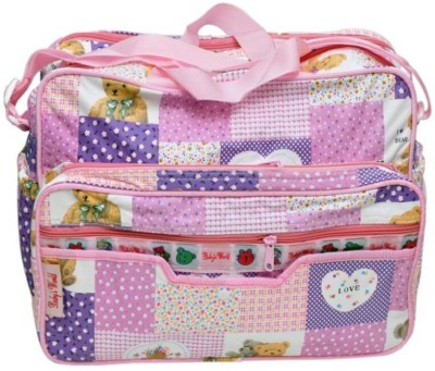 Gennext pink Diaper Bag