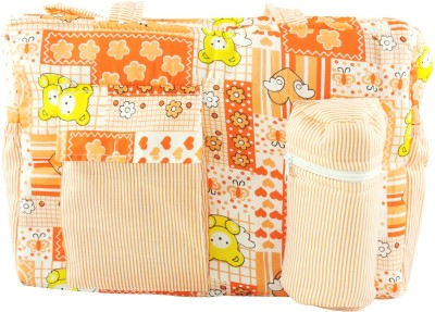 Ole Baby Big Multi-Utility Little Hearts Attractive Print Tote Diaper Bag