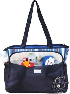 PRETTY KRAFTS Mother's Navy Blue Color Diaper Bag
