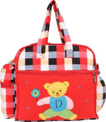 GoAppuGo Red Checks Mother Baby Small Diaper Bag