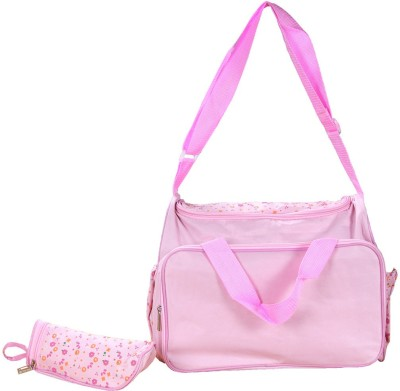 PRETTY KRAFTS Mother's Pink Color Diaper & Organizer Bag