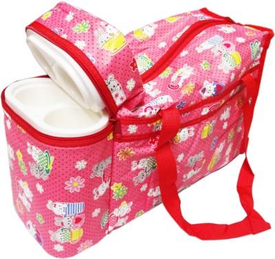 Ole Baby Premium Multi Purpose Flora Print with Double Warmer Tote Diaper Bag