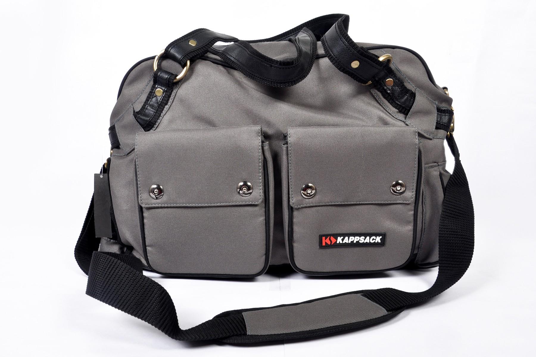 kappsack Mama Bag with Changing Mat Diaper Bag(Gray) Flipkart