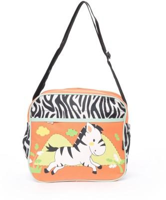 Baby Bucket Bebesitos Nursery Mummy Diaper Tote- Zebra Print -Bag Purse