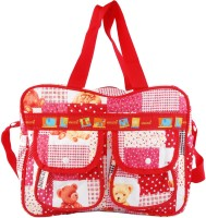 Bazaar Pirates Mama Choice Diaper Bag(Red)