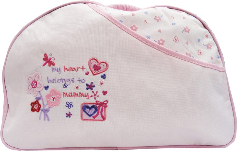 Offspring Outing Mama Shoulder Diaper Bag(Pink)