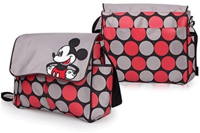 Baby Bucket Mickey Mouse Print Multi Travel Langer Diaper Bag