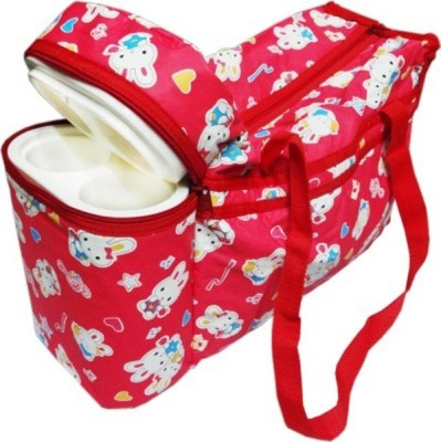 Moms Pet Teddy Print3 Baby Diaper Bag