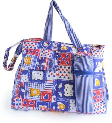 Duck Kitty Messenger Diaper Bag