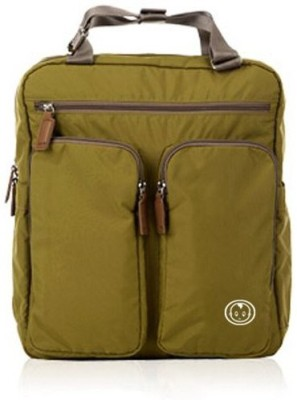 T-Bags Mommy and Baby Premium Olive Green Backpack Diaper Bag