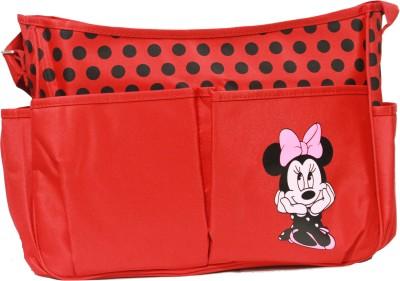 Kiwi Minnie Mouse Patch Shoulder Diaper Bag
