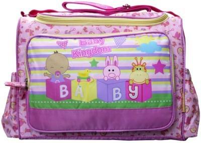 Wishkey Premium Pink Printed Nursery Bag