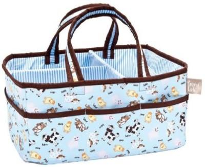 Trend Lab Baby Barnyard Storage Caddy Tote Diaper Bag(Multicolor)