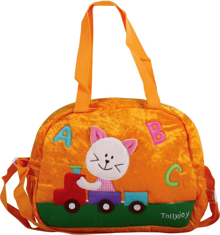 Tollyjoy Nursery Bag-ABC Cat Tote Diaper Bag(Orange)