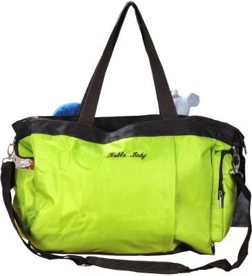 PRETTY KRAFTS Mother's Light Green Color Diaper Bag