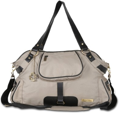 My Milestones Studio Messenger Khaki Diaper Bag