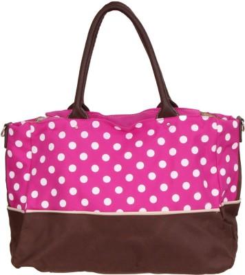 PRETTY KRAFTS Polka Dots Mother Baby Shoulder Diaper & Organizer Bag