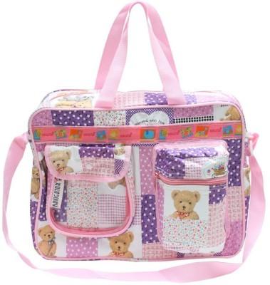 Bazaar Pirates Teddy Bear Print Mother's Diaper Cum Utility Bag