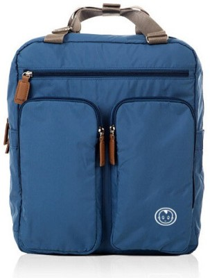 T-Bags Mommy and Baby Premium Bag Blue Backpack Style Diaperbag