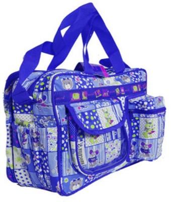 Navigator Multi Function Mama Sling Diaper Bag (Blue, White)