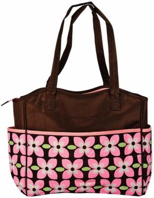 Baby Bucket Flower Print Diaper Bag